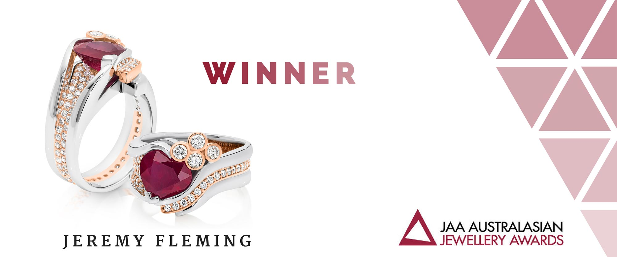 Jeremy Fleming Jewellers is Winner of JAA Australasian Jewellery Awards